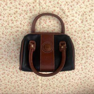 Vintage Leather Crested Mini Bag